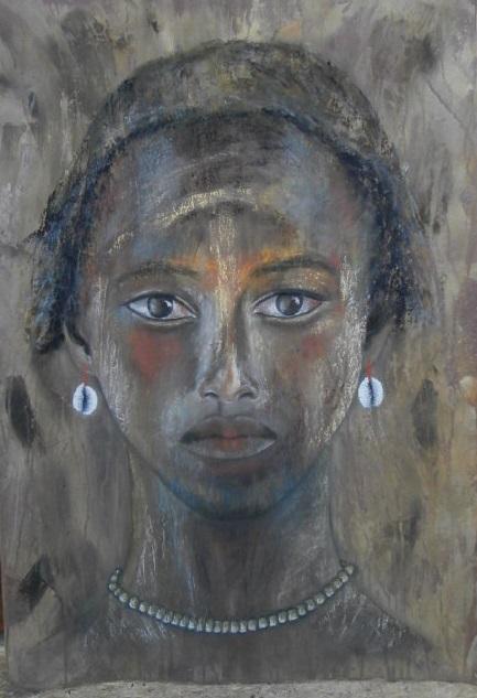 Une jeune fille Dinka